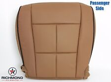 2011 Lincoln Navigator -Passenger Side Bottom PERFORATED Leather Seat Cover TAN