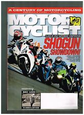 MOTORCYCLIST JULY 2012 SEE CONTENTS DUCATI 750SS IMOLA 100 YEARS SINCE 1912