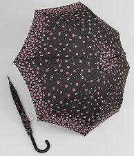HAPPY RAIN Stockschirm Dots blau Regenschirm für Damen und Herren 41081 Punkte