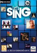 Let's sing JEU PC NEUF