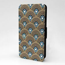For Apple iPod Touch Flip Case Cover Art Deco - T1983