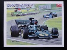 No.24 1972 JPS LOTUS - F1- History of Motor Racing - Player/Tom Thumb 1986