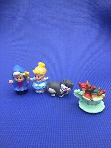 Disney Little People Cinderella Lucifer Cat Gus Jack