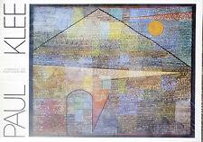 (PRL) 1987 PAUL KLEE AD PARNASSUM VINTAGE AFFICHE ORIGINAL ART PRINT ARTE POSTER