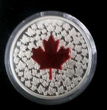 2013 $20 Fine Silver: Maple Leaf Impression