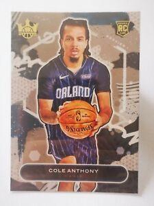 Panini Court Kings 2020-21 N31 card RC Rookie Cole Anthony #74 Orlando Magic