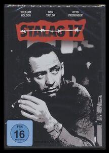 DVD STALAG 17 - WILLIAM HOLDEN + OTTO PREMINGER - Kriegsfilm - 2ter Weltkrieg **