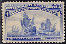 CCX Sc#233 4ct Columbian Superb Mint OG NH CHOICE GEM