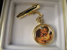COLIBRI  NURSE PIN UP STYLE WATCH GOLDTONE  NEW!  REDUCED