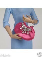 Tonner Nu Mood Pink Satin and Rhinestone 16 in. Fashion Doll Purse 2012