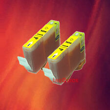 2 BCI-3e YELLOW INK FOR CANON BJC3000 BJC6000 BJC6500