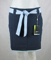 NWT Nike Women's Novelty Convert 3 in 1 Golf Skort Skirt 508274 Navy Blue SIZES