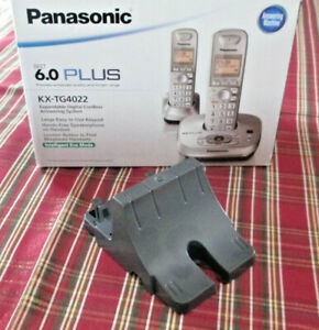 PANASONIC PNKL1010 WALL MOUNTING Adaptor KX-TG4022 DECT 6.0 PLUS GREY new