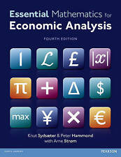 Essential Mathematics for Economic Analysis by Sydsaeter, Knut and Strom