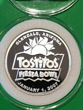 2 Oz Boise State University Oklahoma .999 Fine Silver Proof Round Tostitos Bowl