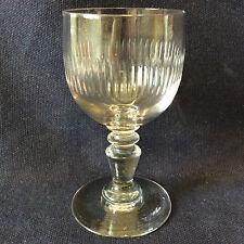 Baccarat H 10,5 cm modèle Renaissance XIX ème Verre en cristal taillé