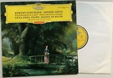 GEZA ANDA KUBELIK GRIEG Piano Concerto in A DGG 138 888 SLPM RED STEREO NM/EX