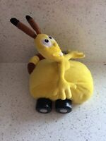 Disney Store Exclusive Jungle Junction Yellow Bungo Soft Plush Toy With Wheels