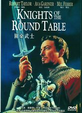 "NEW DVD "" Knights Of The Round Table "" Robert Taylor"