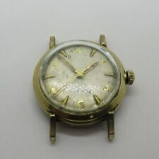 Vintage Bulova L7 Automatic Swiss 11ACAC 17J 10k Rolled Gold Plated Watch Case M