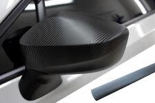 PREMIUM ESPEJO Carcasas Tapa Diseño lámina gris aluminio para muchos vehículos