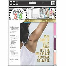 me & my BIG ideas 4 Month Fitness Extension - The Happy Planner Scrapbooking