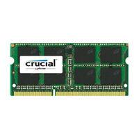 Crucial 8GB Module PC3-12800 SODIMM 204-Pin Notebook Memory Ram CT102464BF160B
