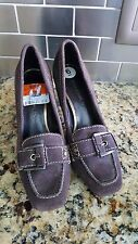 Bandolino ��Maraval�� Brown Suede Loafer-style Pumps Women's Size 5M