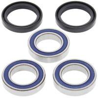 Honda CR250R 2000 2001 2002 Rear Wheel Bearings Seals Kit 25-1250
