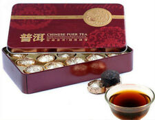 185g Hot Sale Black Tea 15 Pcs Gift Packing Cooked Pu Er Tea Pu-erh Té Tin Box