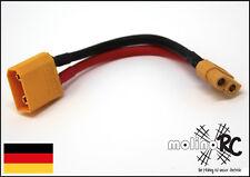 Xt90 male - XT60 female Adapter | XT90 Männchen zu XT60 Weibchen Stecker