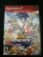Sonic Riders (Playstation 2 PS2, 2006) Complete With Manual
