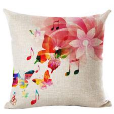 New flax Cushion Printed Pillow Home Decorative Couch Custom Pillowcase Gif R1H2