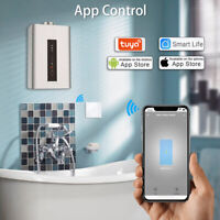 Smart WiFi EU Boiler Water Heater Switch 4400W Voice Control For Echo Alexa