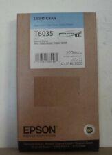 Original Epson T6035 Tinte light  cyan für Stylus Pro 7800 7880 9800 9880  2018