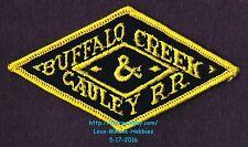 """LMH Patch  BUFFALO CREEK & GAULEY Railroad  BC&G BCG Railway Elk River WV 4-1/4"""""""