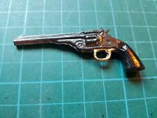 1:6 Scale Stevo's Toys Break Action Schofield .45 Revolver pistol gun diecast