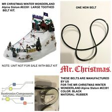 "Mr. Christmas Winter Wonderland ""Alpine Slalom  33 inch Toothed belt (not unit)"