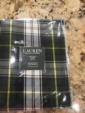 "Ralph Lauren Middlebrook Plaid Tablecloth - 60"" x 120"""