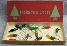 Box Christmas Decoration Lights British Luma Co-operative Electric Lamp Society