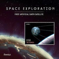 Gambia - Rossica 2014 Space Exploration Stamp Souvenir Sheet