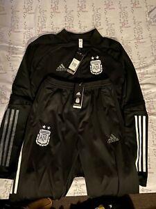 Argentina National Team Adidas Tracksuit - Mens Large
