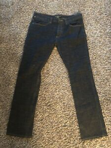 Active Reform Slim Straight Button Fly Jeans Size 36x30