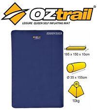 OZTRAIL LEISURE QUEEN MAT SELF INFLATING Foam Mattress Air Bed