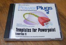 Powerplugs modelli per Microsoft PowerPoint: preferiti 2 II PC CD