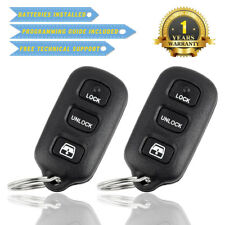 2X KEYLESS ENTRY REMOTE CONTROL CAR KEY FOB REPLACEMENT FOR  HYQ1512Y