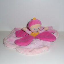 Doudou Poupée Babynat Baby Nat'- Collection Dim Dam Doum