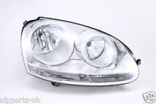 VW Golf MK5 2004-2009 Chrome Front Headlight Headlamp O/S Drivers Right