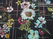 Designers Guild Curtain Fabric 'VERANDA' 3 METRES NUIT - CHRISTIAN LACROIX