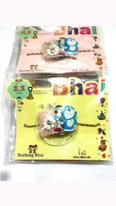 FANCY LIGHT RAKHI Premium Quality Raksha Bandhan India Rakhadi For brother